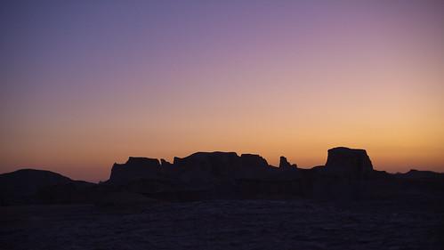 Purple sunrise in the Kaluts