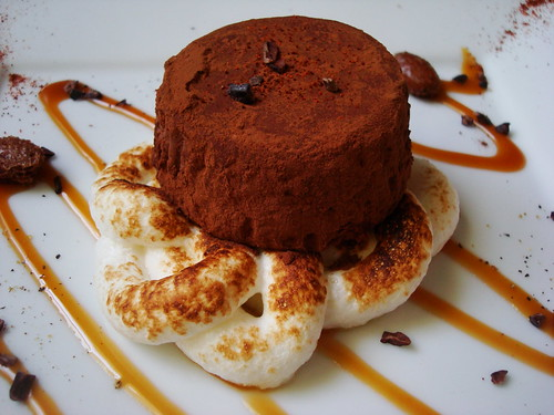 Spicy Chocolate Marquise