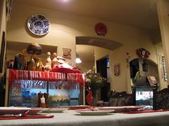Tanti oggetti tipici tradizionali rumeni