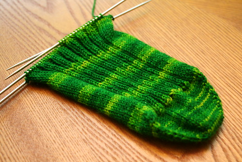 Matt's Wollmeise Sock