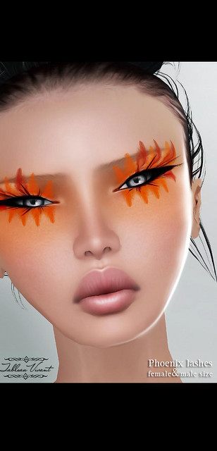 ~Tableau Vivant~ Light&Shadows~ Phoenix lashes ~ TFG 11