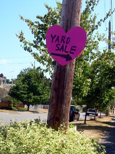Yard Sale Heart