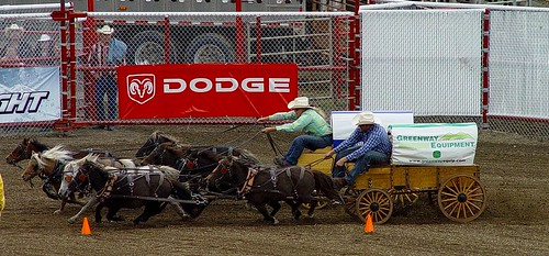 Chuck Wagon Racing