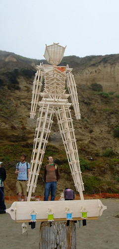 Balsa Man 2009. Baker Beach San Francisco. FREE .5