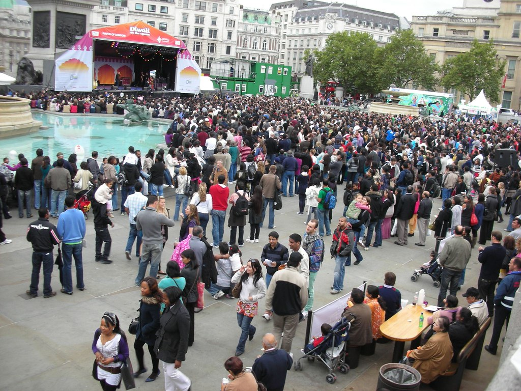 Diwali Celebrations at Trafalgar Square