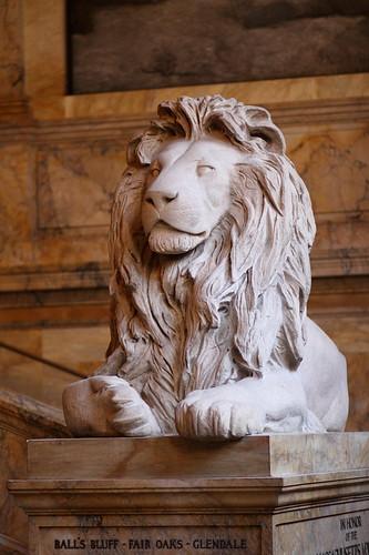 Lion Statue, Boston Public Library
