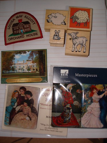 Magnents and stamps