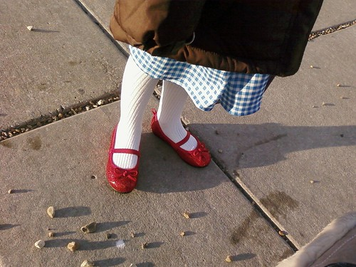 She even has the shoes!