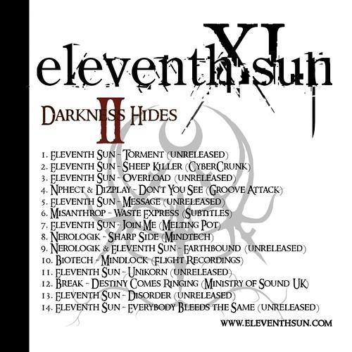 Eleventh Sun - Darkness Hides II - Cover