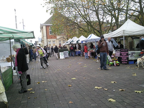 Walthamstow Farmer's market