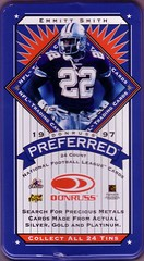 1997 Donruss Preferred Tins Blue Box
