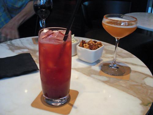 Cherry Yuzu Soda and a Thai Rye