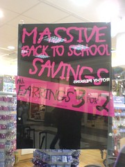 MASSIVE BACK TO SCHOOL SAVINGS