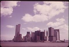 Manhattan Skyline from the Staten Island Ferry 05/1973