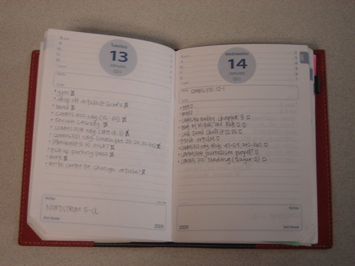 Thank goodness for my planner! Without it and my little to-do lists, I would be lost!
