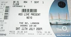 Neyo Ticket