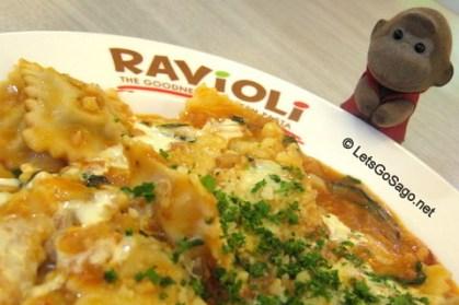 Chorizo and Tomato Ravioli