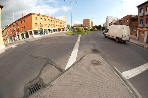 En medio del asfalto