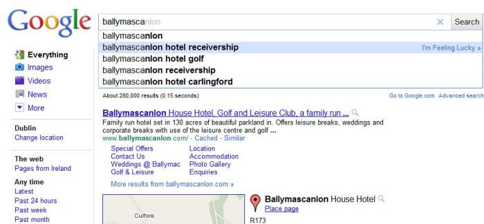 ballymascanlon hotel receivership