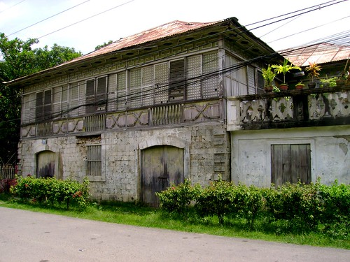 A common bahay na Bato around Carcar