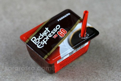 Pocket Espresso to go  - the Pocket Coffee summer version!