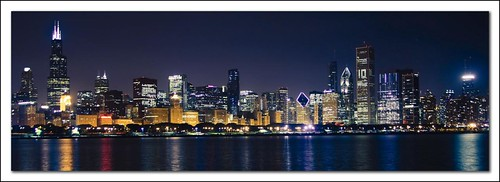 Chicago Skyline a 10