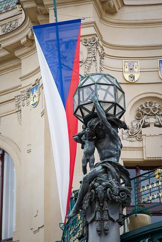 Municipal House (Obecní Dům) detail by you.