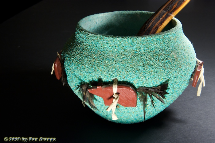 Zuni Fetish Pot
