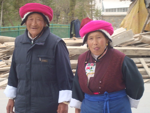 Beautiful Ladies in Typical Tibetan Garb