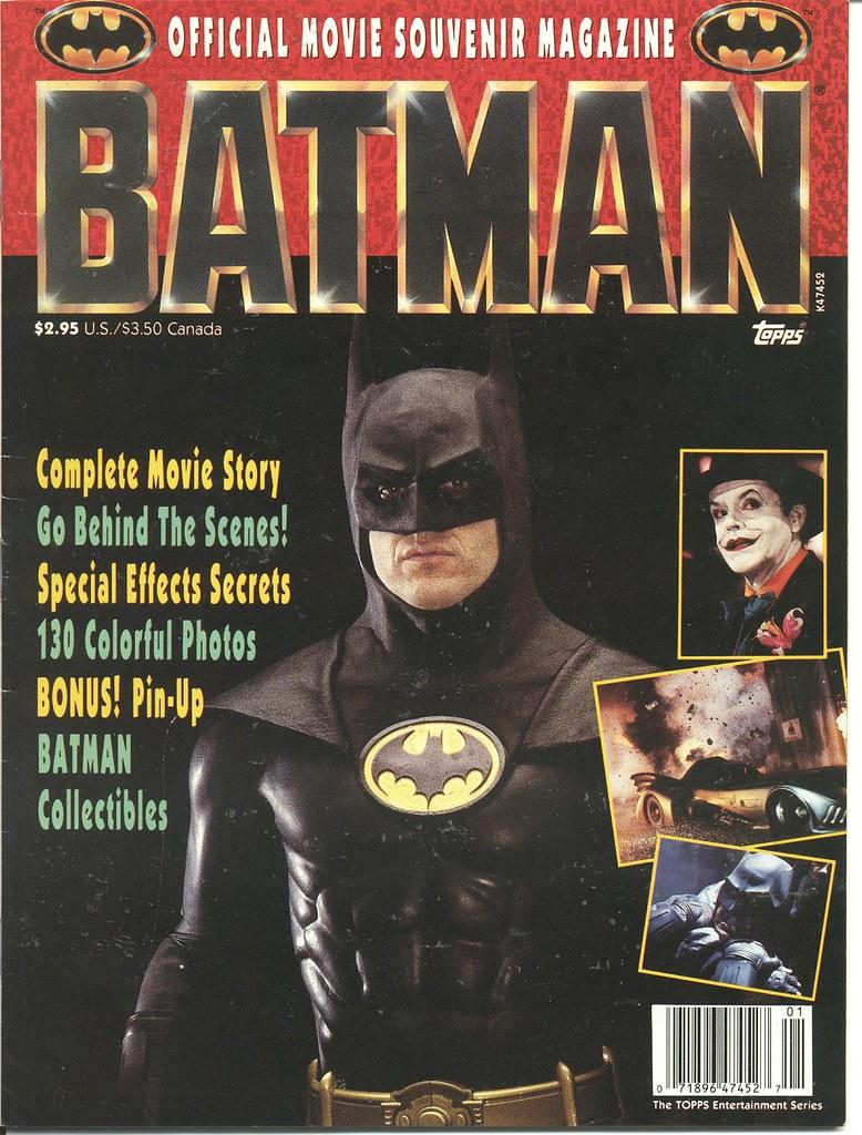 Batman Souvenir mag