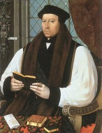 Thomas Cranmer, Archbisop of Canterbury, perso...