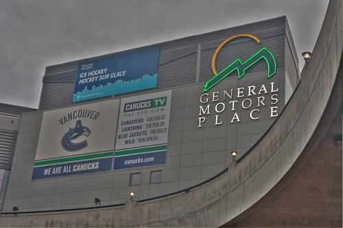 Vancouver 2010 Olympics Hockey Venue - GM Place