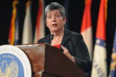 Janet Napolitano, secretary of the Department ...