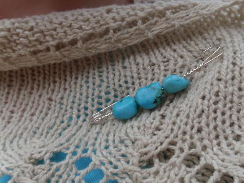 shawl-pin closeup