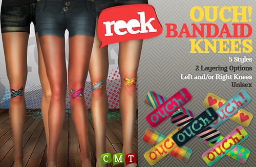 Reek - Ouch! Bandaid Knees