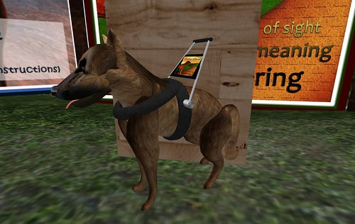 SL09: Virtual Healing Hands (VHH): Max The Guide Dog