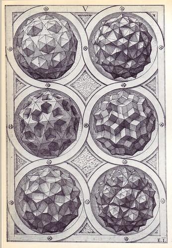 Coelum (c) - Perspectiva Corporum Regularium -  Wenzel Jamnitzer 1568