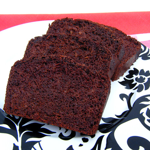 Healthy Chocolate Zucchini (or Apple) Bread