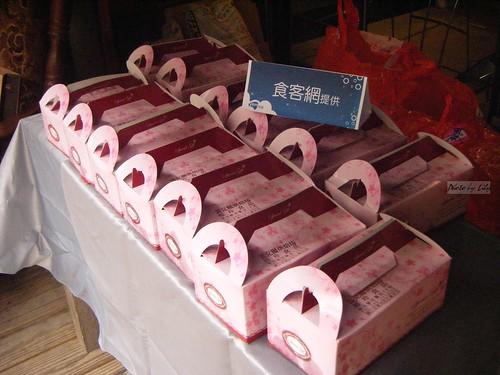 食客網提供之蕾克爾點心盒。