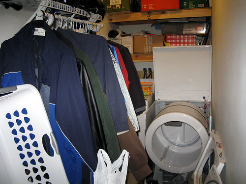 Messy Utility Room