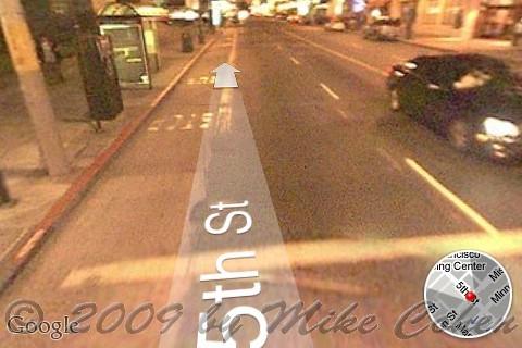 iPhone Street View 2