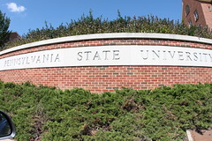 front of Pennsylvania State University