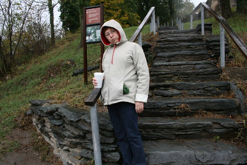 Mom at Harpers Ferry