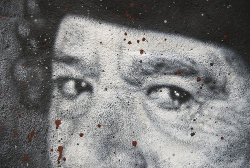 Muammar al Gaddafi Mouammar R.I.P.  Kadhafi Colonel Quaddafi painted portrait _DDC6339