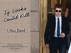 Wallpaper:  Robert Pattinson:  I.Am.Died [1024 x 768]