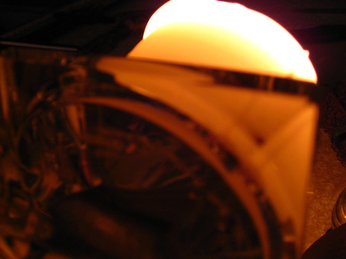 Candle Underside