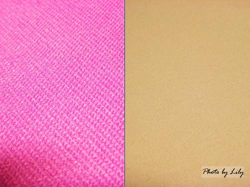 Uniqlo與Lative抗UV外套布料比較