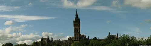A Panorama of Glasgow University