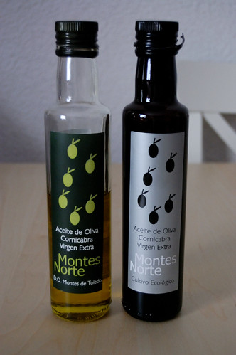 Aceite de Oliva Picual (versión de cultivo ecológico y versión normal)