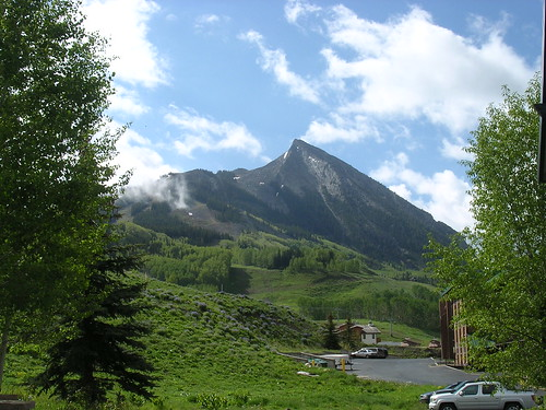 Mt. Crested Butte Sunday Morning